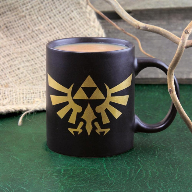 Mug The Legend of Zelda avec logo d'hyrule