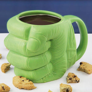 Mug en forme de poing Hulk 400ml - Marvel - Gadget2Geek