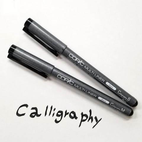 .Too COPIC MULTILINER Black Calligraphy
