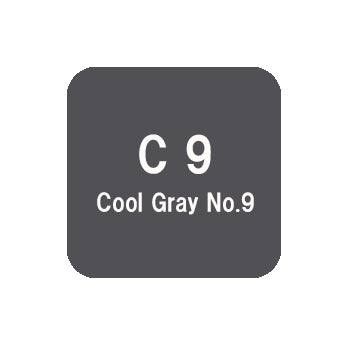 .Too COPIC sketch C9 Cool Gray No.9