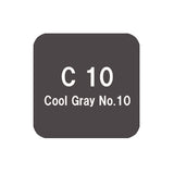 .Too COPIC sketch C10 Cool Gray No.10