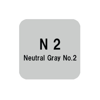 .Too COPIC sketch N2 Neutral Gray No.2