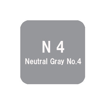 .Too COPIC sketch N4 Neutral Gray No.4