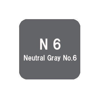 .Too COPIC sketch N6 Neutral Gray No.6