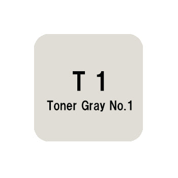 .Too COPIC sketch T1 Toner Gray No.1