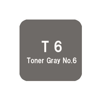 .Too COPIC sketch T6 Toner Gray No.6