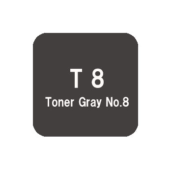 .Too COPIC sketch T8 Toner Gray No.8