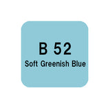 .Too COPIC sketch B52 Soft Greenish Blue