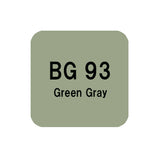 .Too COPIC sketch BG93 Green Gray
