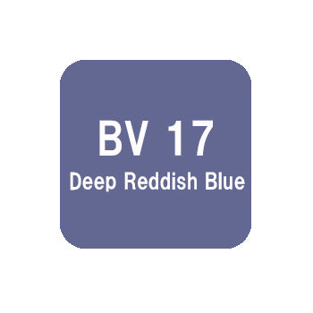 .Too COPIC ciao BV17 Deep Reddish Blue
