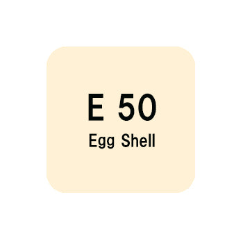 .Too COPIC sketch E50 Egg Shell