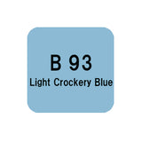 .Too COPIC sketch B93 Light Crockery Blue