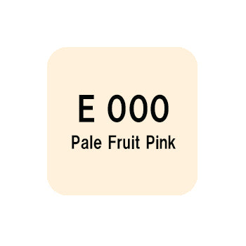 .Too COPIC sketch E000 Pale Fruit Pink