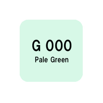 .Too COPIC sketch G000 Pale Green