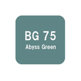 .Too COPIC sketch BG75 Abyss Green