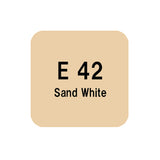 .Too COPIC sketch E42 Sand White