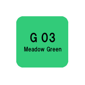 .Too COPIC sketch G03 Meadow Green