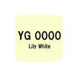 .Too COPIC sketch YG0000 Lily White