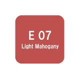 .Too COPIC sketch E07 Light Mahogany