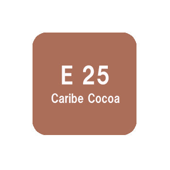 .Too COPIC sketch E25 Caribe Cocoa