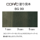 .Too COPIC sketch BG99 Flagstone Blue