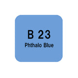 .Too COPIC sketch B23 Phthalo Blue