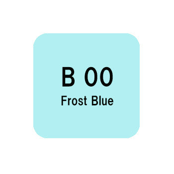 .Too COPIC sketch B00 Frost Blue