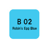 .Too COPIC sketch B02 Robin's Egg Blue