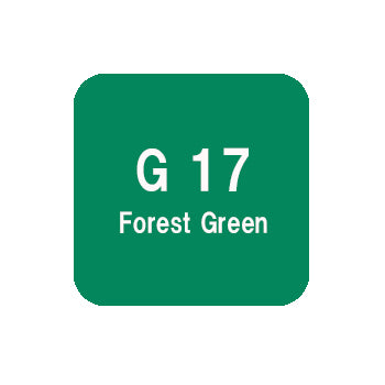 .Too COPIC sketch G17 Forest Green