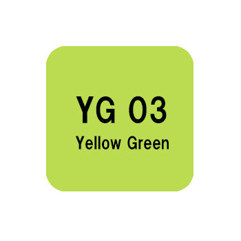 .Too COPIC sketch YG03 Yellow Green