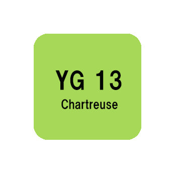 .Too COPIC sketch YG13 Chartreuse