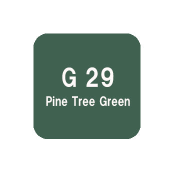 .Too COPIC sketch G29 Pine Tree Green