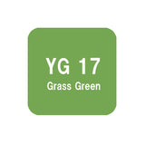 .Too COPIC sketch YG17 Grass Green
