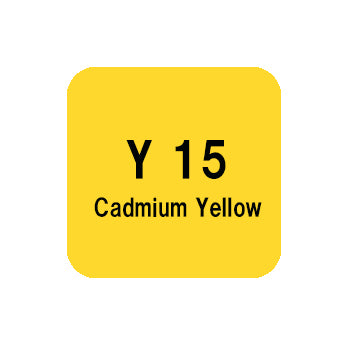 .Too COPIC sketch Y15 Cadmium Yellow