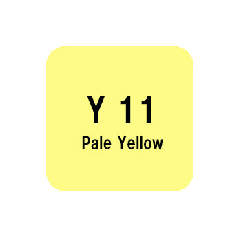 .Too COPIC sketch Y11 Pale Yellow