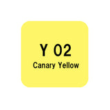 .Too COPIC sketch Y02 Canary Yellow