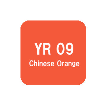 .Too COPIC sketch YR09 Chinese Orange