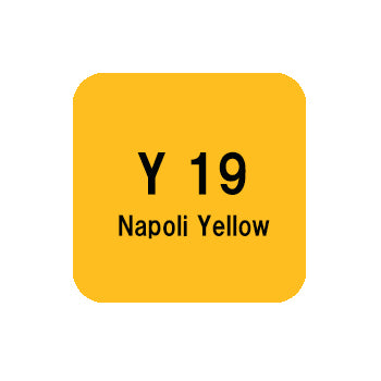 .Too COPIC sketch Y19 Napoli Yellow