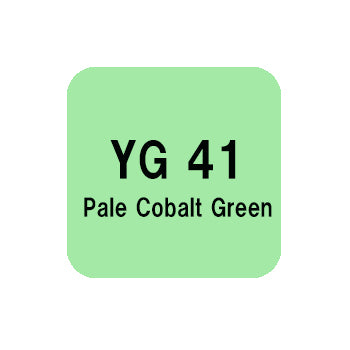 .Too COPIC sketch YG41 Pale Cobalt Green