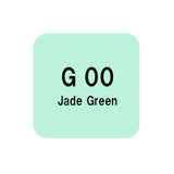 .Too COPIC sketch G00 Jade Green