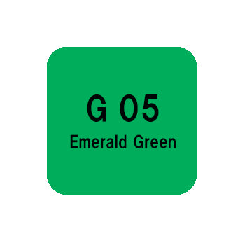 .Too COPIC sketch G05 Emerald Green
