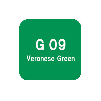 .Too COPIC sketch G09 Veronese Green