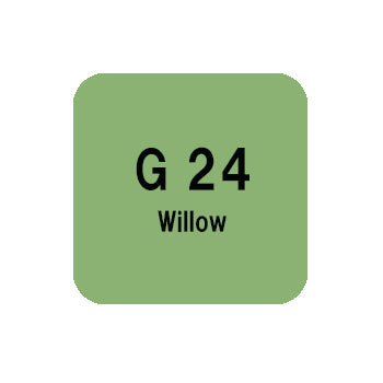 .Too COPIC sketch G24 Willow