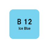 .Too COPIC sketch B12 Ice Blue