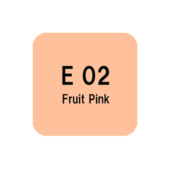 .Too COPIC sketch E02 Fruit Pink