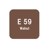 .Too COPIC sketch E59 Walnut