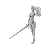 S.H. Figuarts - Body-chan DX SET (Gray Color Ver.) 2017