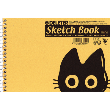 DELETER Sketch Book mini B6