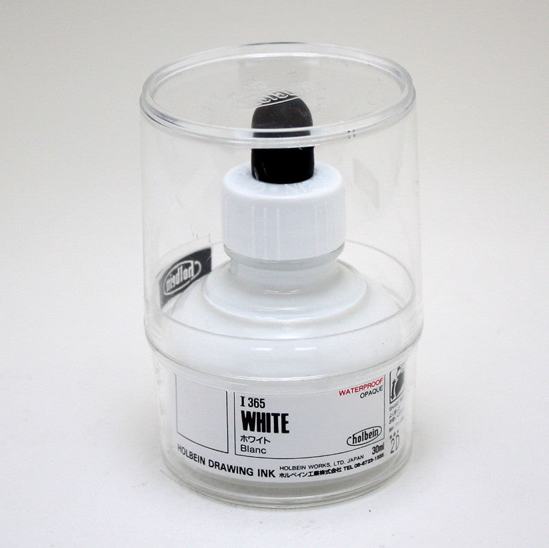 Drawing ink holbein I365 blanc 30ml