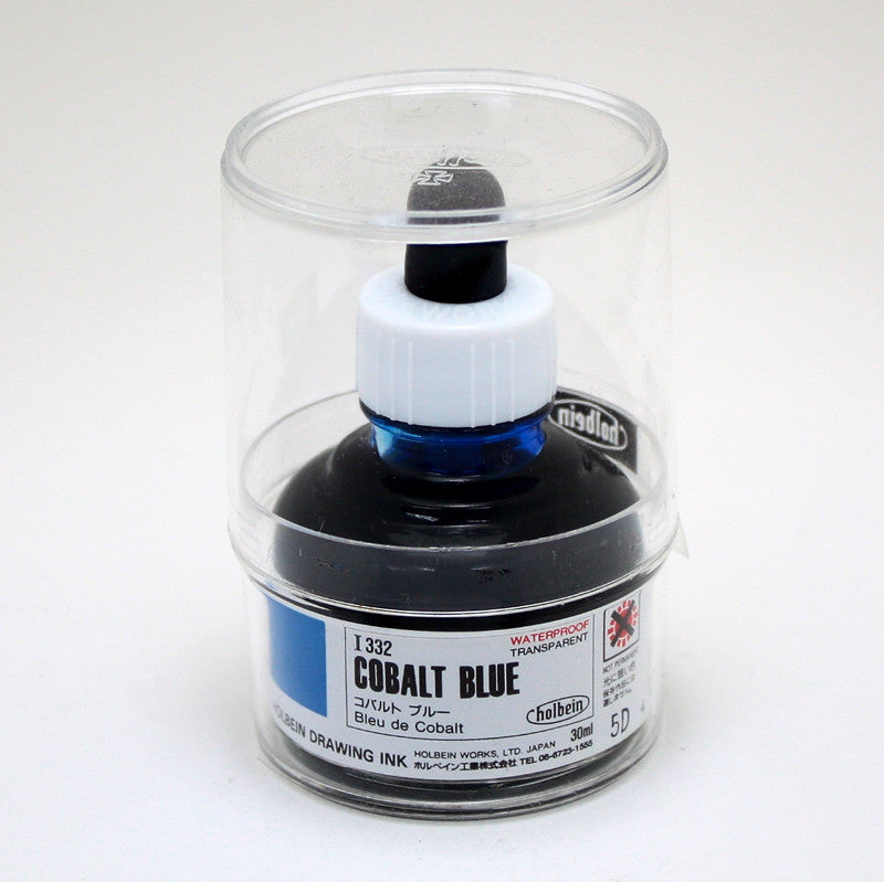 Drawing ink holbein I332 bleu de cobalt 30ml